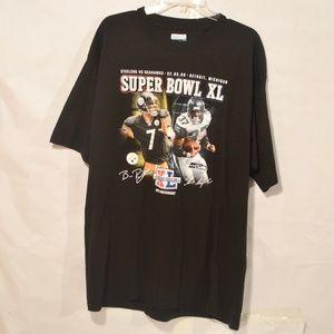 NFL Reebok Super Bowl Steelers Seahawks XL T Shirt